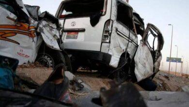 Photo of انقلاب أتوبيس بصحراوي قنا .. إصابة 38 شخصا من بينهم أطفال
