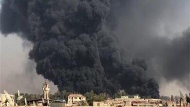 Photo of شركة أنابيب البترول تم السيطرة على حريق طريق الإسماعيلية الصحراوي