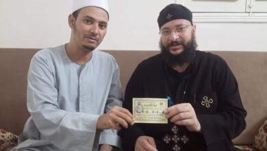 Photo of راعي كنيسة بالمنيا يتبرع بصك أضحية للأوقاف .. في رباط ليوم الدين