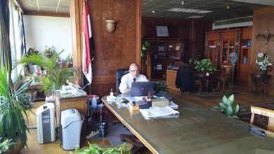 Photo of وزير الري يعقد إجتماعاً بقيادات الوزارة لمتابعة تنفيذ أساليب الري الحديث