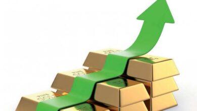 Photo of الذهب يرتفع من جديد في أسعار بمنتصف تعاملات اليوم