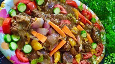 Photo of اللحم بالبراون صوص … مقدم من الشيف : سوسن فؤاد