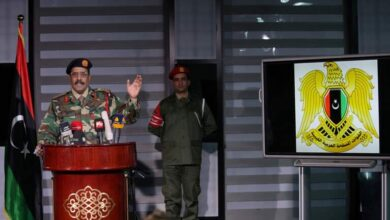 "Photo of الجيش الليبي بقيادة حفتر ينفي قصفه ""المليشيات"" غرب سرت"