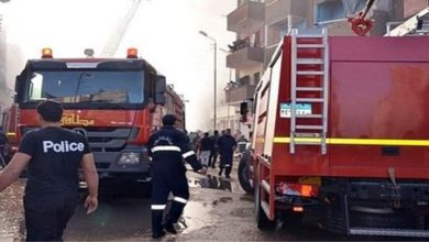 Photo of السيطرة علي حريق نشب داخل سنتر تجاري بمنطقة حلوان