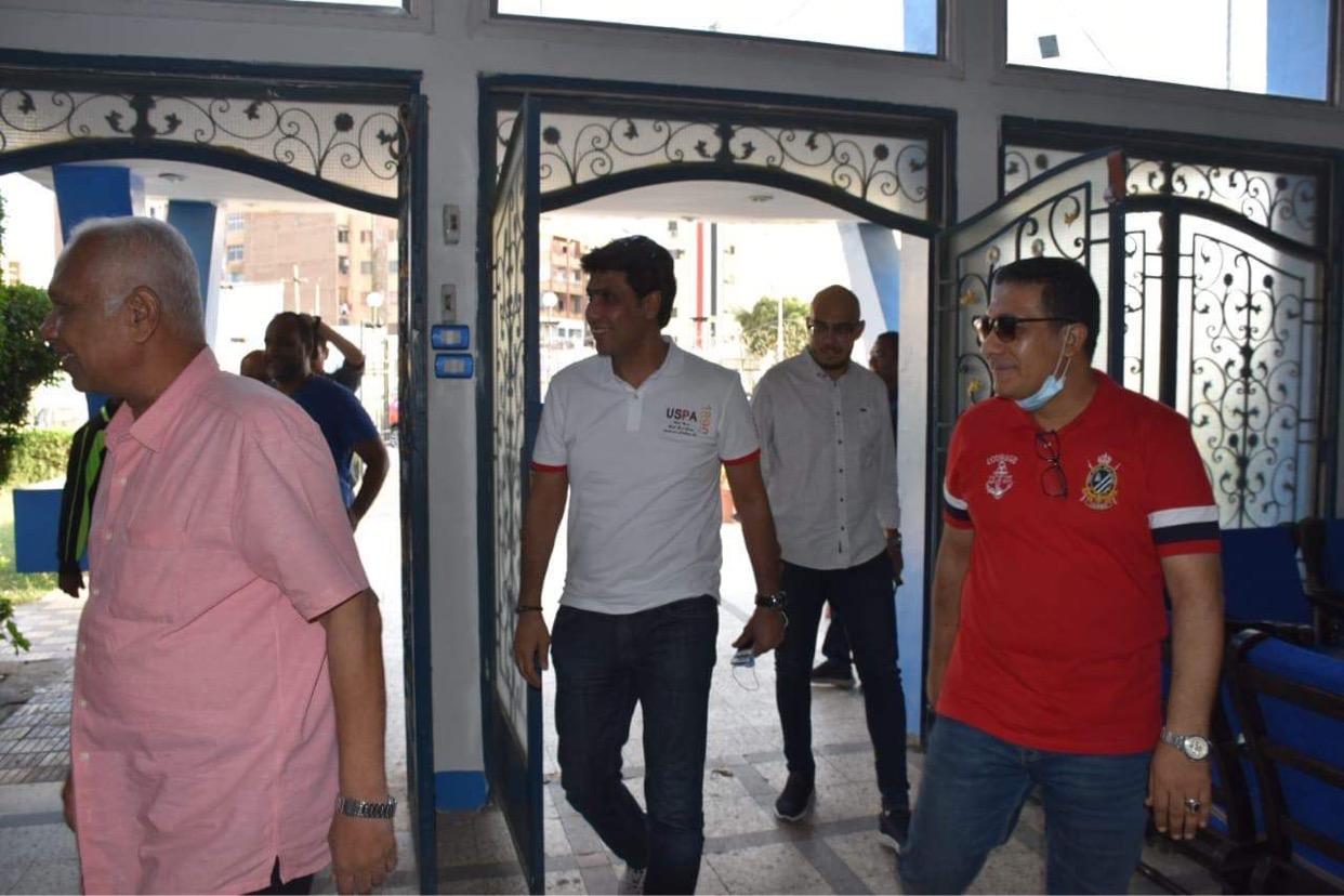 رئيس اسوان يستقبل الجهاز الفنى بقيادة الشيشينى تمهيد الإعلان الرسمي