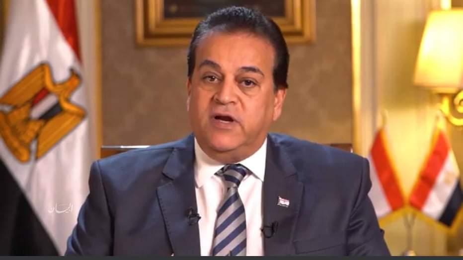 """وزير التعليم العالي: نتائج تجربة العقار المصري لكورونا """" فاقت التوقعات"""