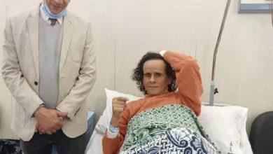 Photo of حالة على حميدة من داخل مستشفى معهد ناصر الأن