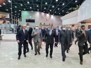 وزيرا الطيران والسياحة والأثار في جولة تفقدية موسعة لمطار الأقصر