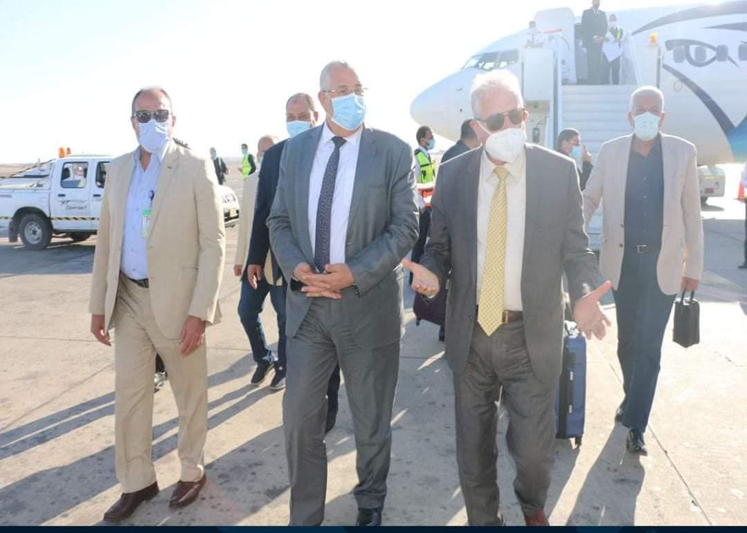 """""""القصير وفودة """"في زيارة لتفقد عدد من المشروعات بمحافظةجنوب سيناء"""