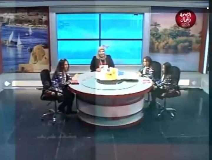 """نجاح برنامج علم طفلك مع """" نورا الحسينى """" على قناة الصحة والجمال"""