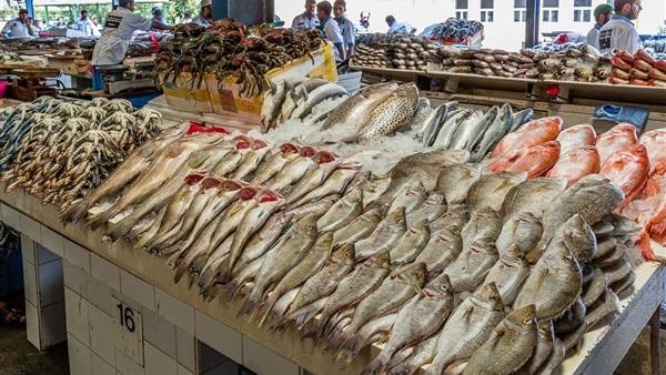 أسعار الأسماك في سوق العبور لـ يوم الثلاثاء 30 مارس 2021