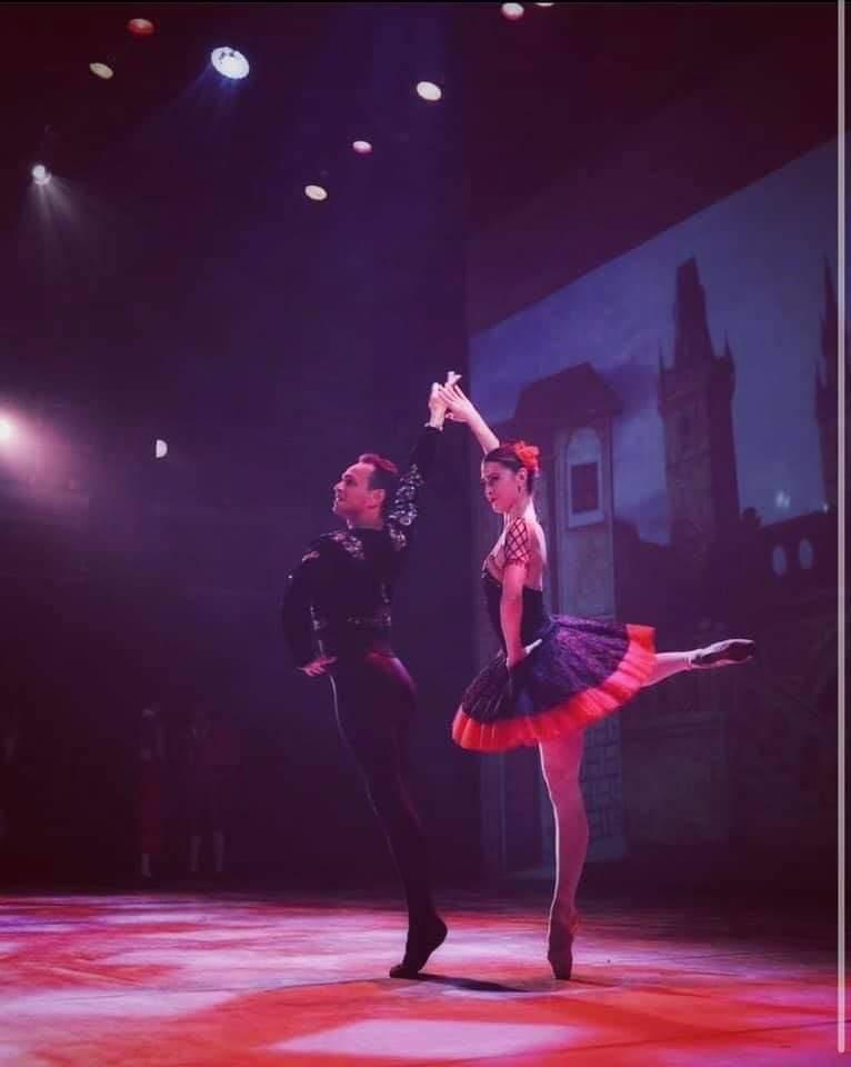 راقص الباليه العالمي أحمد يحيى يتألق بدار الأوبرا بـ الإسكندرية