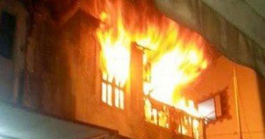 إندلاع حريق بغرفة أطفال في أحد عقارات الإسكندرية