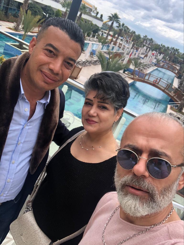 مختار اسماعيل يهدي الشو الخاص به في تركيا ل محمد الصغير