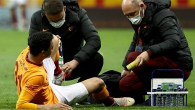 Photo of إصابة اللاعب مصطفى محمد في مباراة جالاتا سراي وبشكتاش