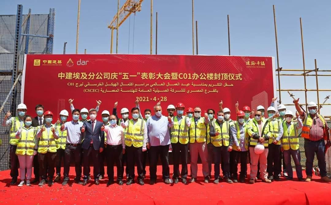 وزير الإسكان: الانتهاء من الأعمال الخرسانية لعاشر برج بالعاصمة الإدارية
