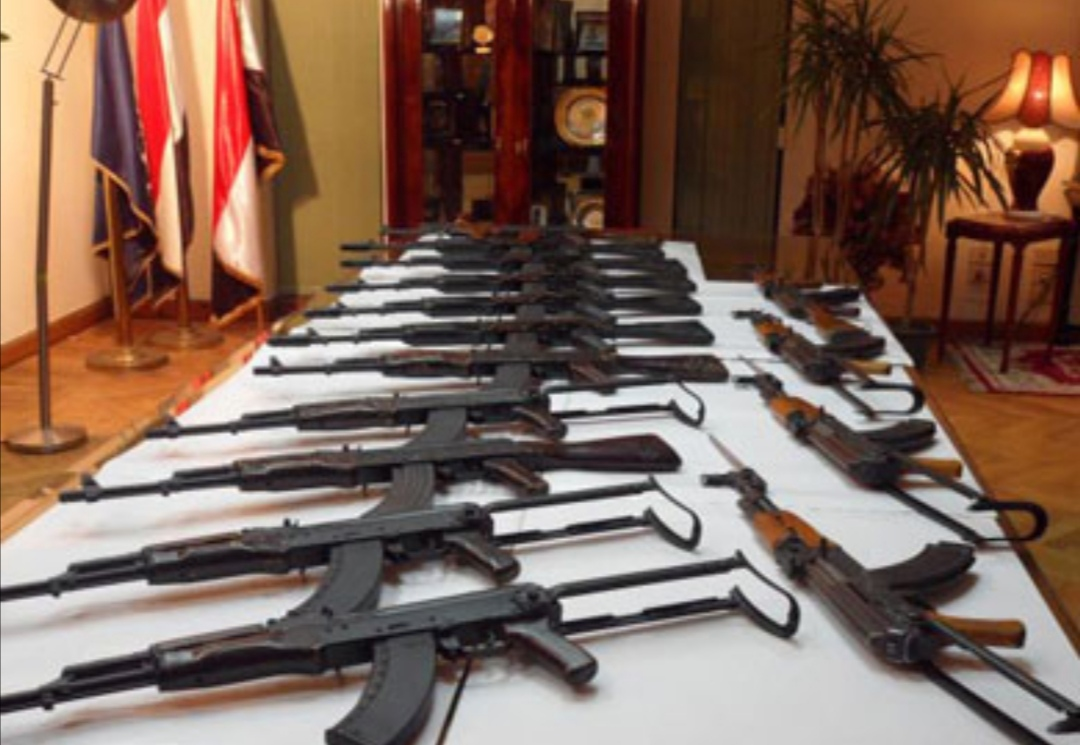 الداخلية: ضبط 82 قطعة سلاح ناري وتنفيذ 55 ألف حكم خلال 24 ساعة