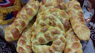 Photo of الخبز المضفر … مقدم من الشيف : هبة نجم
