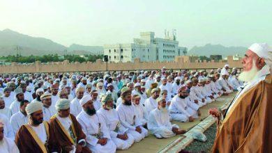 Photo of إلغاء صلاة عيد الفطر بسبب فيروس كورونا في سلطنة عمان