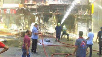 Photo of إندلاع حريق بـ مطعم شهير في أبو قرقاص بـ المنيا