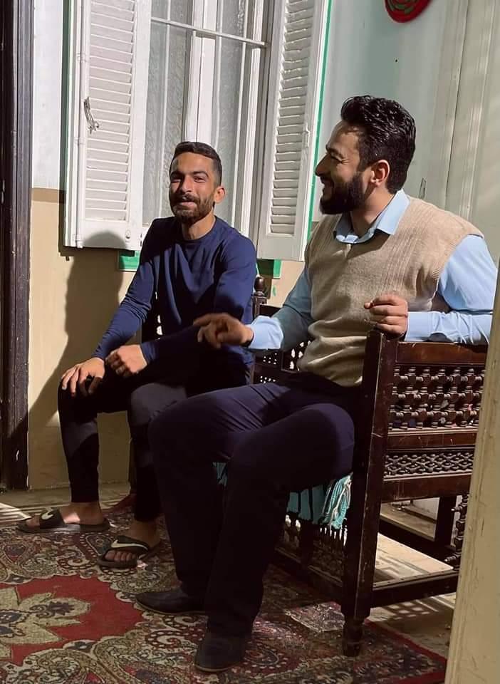 هادي خفاجه خاص لعالم النجوم مسلسل المداح مأخوذ من قصه حقيقية