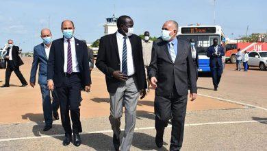 Photo of عبد العاطي يصل إلى جوبا فى مستهل زيارة رسمية لدولة جنوب السودان الشقيقة