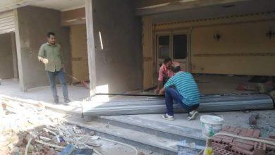 Photo of الجيزة: إيقاف 4 حالات تحويل من سكنى لتجارى وحالة بناء مخالف بحدائق الأهرام