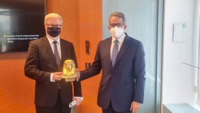 Photo of وزير السياحة والآثار يلتقى المستشار الاقتصادي للمستشارة الألمانية