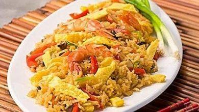 Photo of أرز بالجمبري … مقدم من الشيف : لمياء جبر