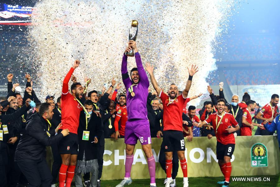 الأهلي المصري بطلاً لدوري أبطال إفريقيا … للمرة العاشرة في تاريخه