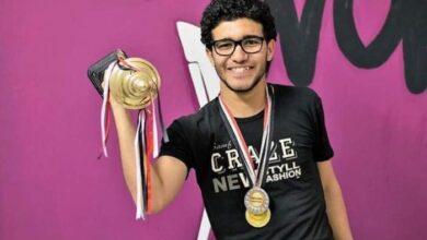 """Photo of أحمد دياب يحصل علي جائزة """"ستيفن هوكينج"""" لإبتكار وسيلة جديدة في مجال الطاقة"""