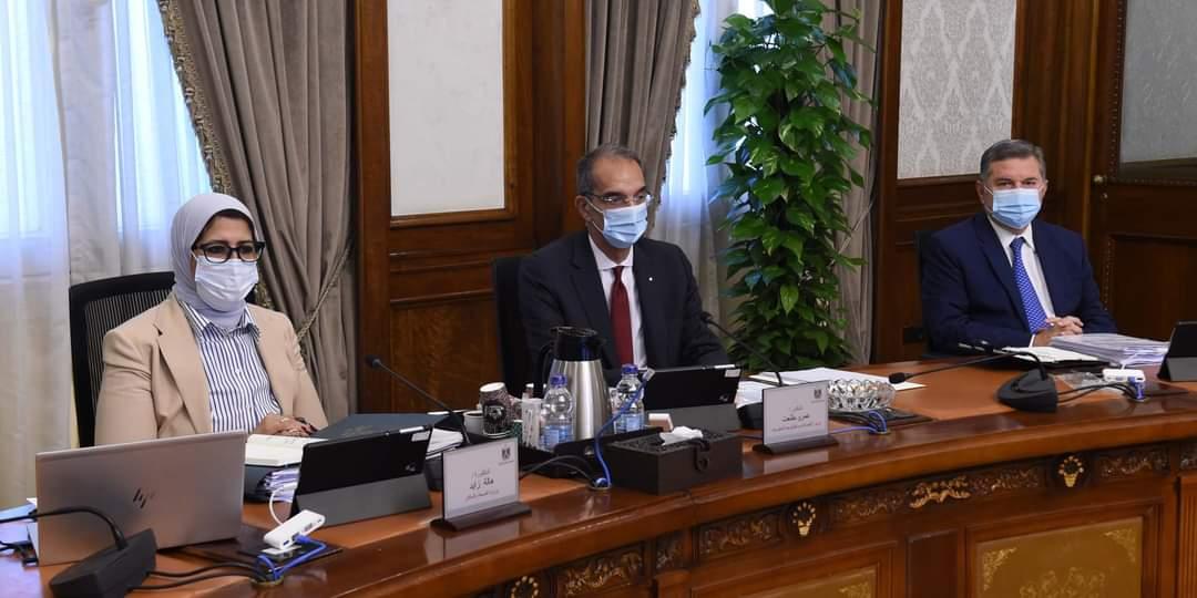 """وزيرة الصحة: منظمة الصحة العالمية تضع مصر فى المستوى الأقل من حيث خطر انتشار وباء """"كورونا"""""""