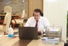 Photo of وزير التعليم العالي يستعرض تقريرًا حول أنشطة معهد بحوث البترول المصري