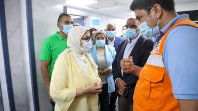 Photo of زايد: تتفقد مستشفى العلمين النموذجي.. وسيارات الإسعاف والقوافل والأكشاك الطبية على طول الطريق