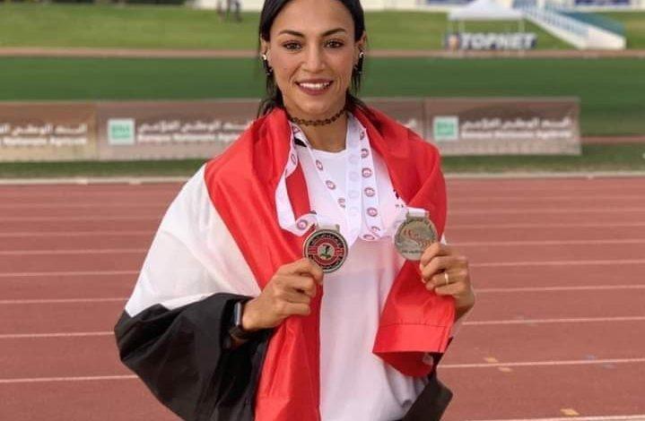 """""""بسنت حميدة"""" أسرع عداءة مصرية تستعد لـ بداية ألومبياد طوكيو 2020"""