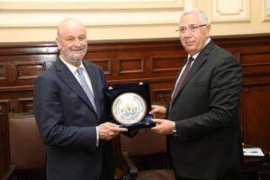 القصير يبحث مع سفير اسبانيا التعاون بين البلدين في مجال الاستزراع السمكي