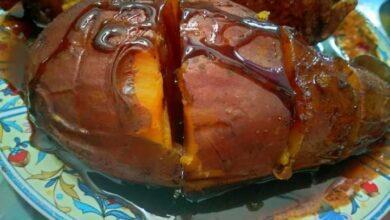 Photo of بطاطا في الكيس الحراري … مقدمة من الشيف : منى جودة