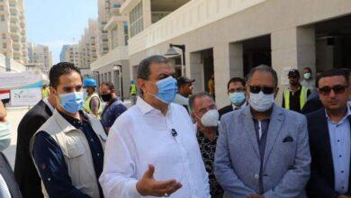 Photo of سعفان يطلق القافلة الطبية للكشف على العمالة غير المنتظمة مجانا بالعلمين الجديدة