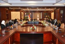 Photo of النائب العام يلتقي بـ عضوات النيابة العامة الجديدات