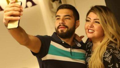 Photo of مها احمد مع نجلها في حفلة محمد رمضان بعد وعكتها الصحية