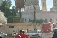 Photo of الدفاع المدني يسيطر على حريق نشب في كشك كهرباء داخل مسجد بقنا