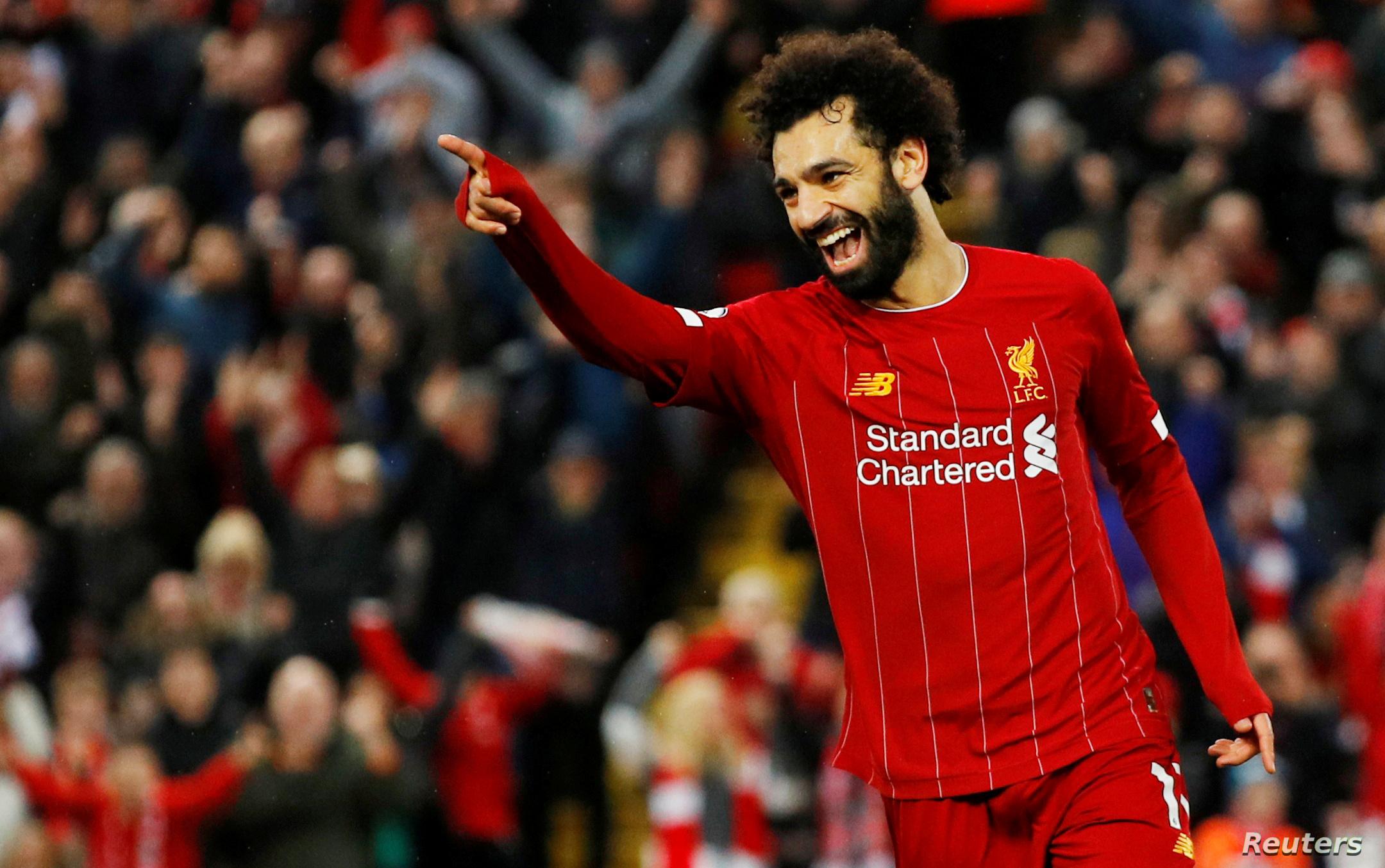 محمد صلاح يسجل الهدف الثاني لـ ليفربول أمام كريستال بالاس بالدوري الإنجليزي الممتاز