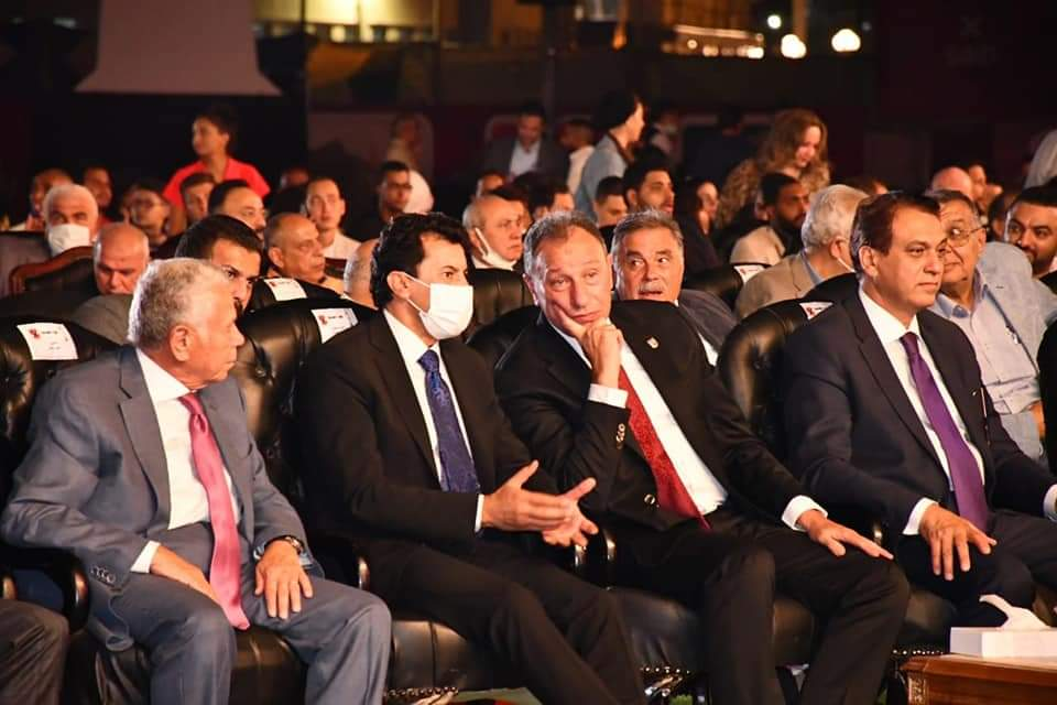 """وزير الشباب والرياضة يشهد احتفالية الأهلي بـ """" تدشين النجمة العاشرة """""""