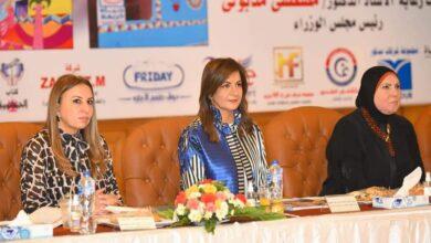 """Photo of وزيرة الهجرة تستعرض جهود الوزارة لدعم المشروع القومي """"حياة كريمة"""""""