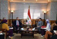 Photo of صبحي يبحث مع السفير الأمريكي بالقاهرة تعزيز التعاون المشترك