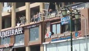 الدفاع المدنى يسيطر على حريق فى عمارة سكنية فـ دمنهور
