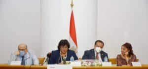 وزيرة الثقافة تطلق فعاليات الاحتفاء بصلاح عبد الصبور فى مؤتمر فارس الكلمة بالأعلى للثقافة