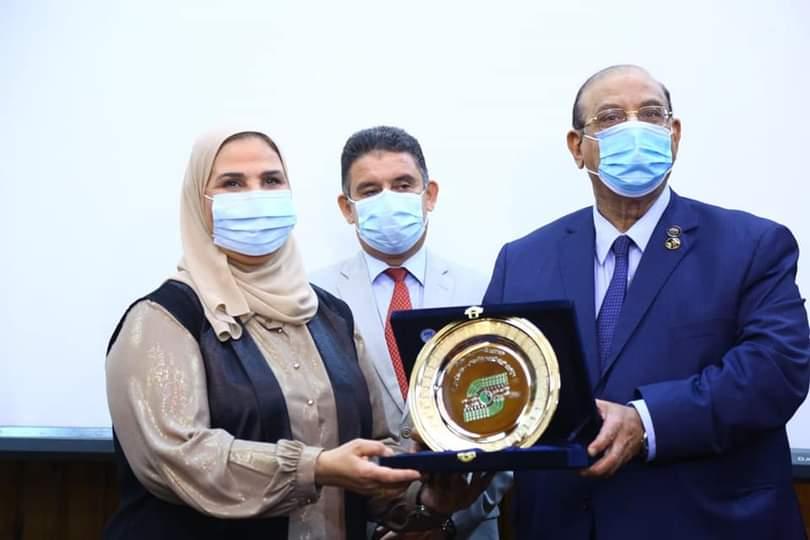 القباج تشارك في مؤتمر الجمعيات الأهلية حول مكافحة الهجرة غير الشرعية بمحافظة الاسكندرية