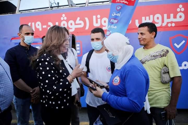 عوض: انتشار لعدد ٨ قوافل لمدة عشرة أيام لتسجيل المواطنين لتلقى لقاح كورونا