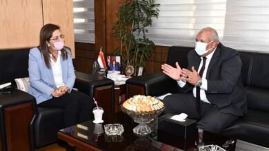Photo of السعيد تلتقي بـمحافظ الوادي الجديد لمناقشة خطط ومشروعات المحافظة